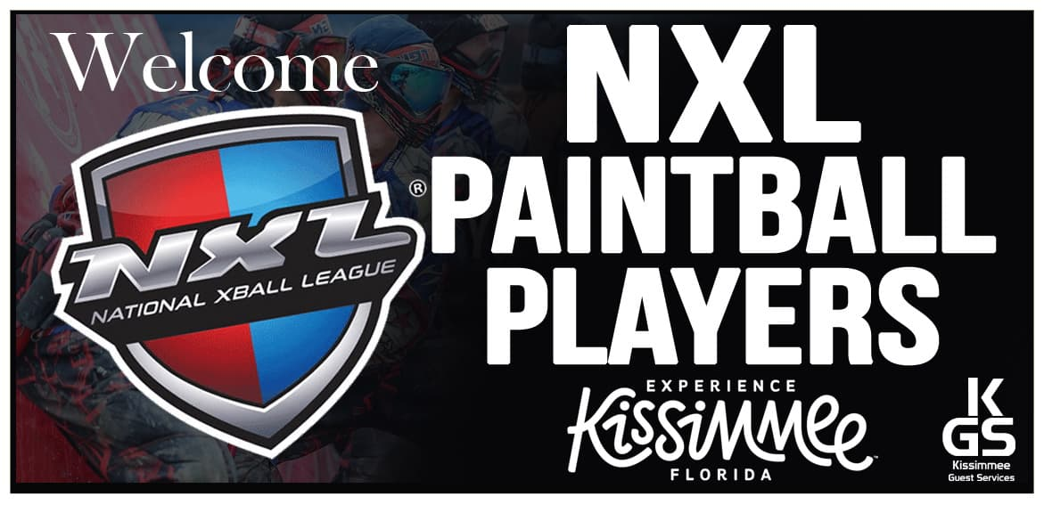 NXL paintball - kissimmee guest services