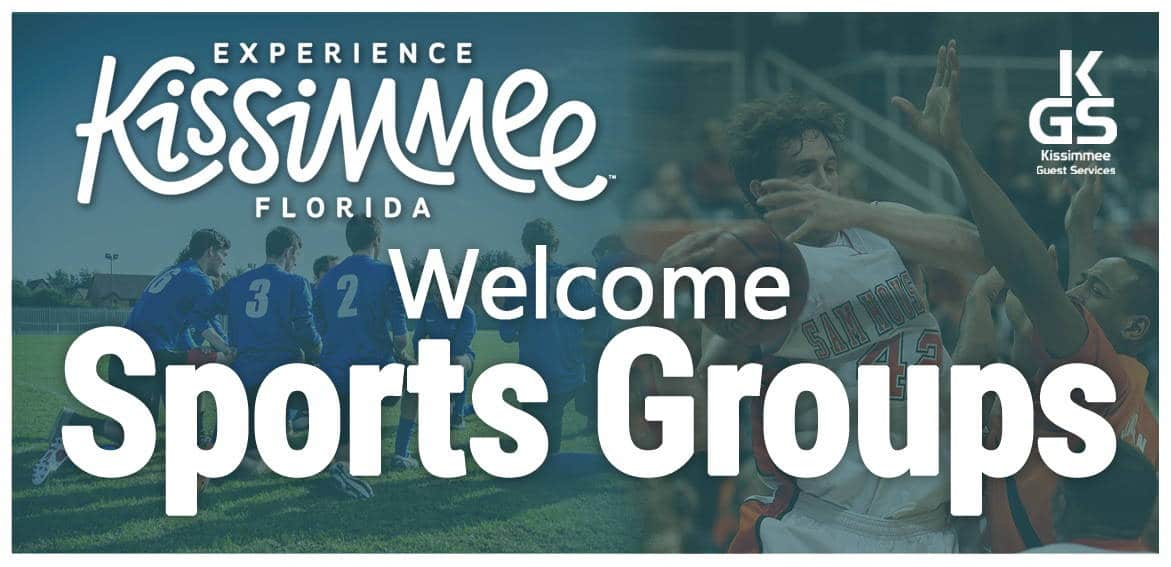 sports groups banner - kissimmee guest services