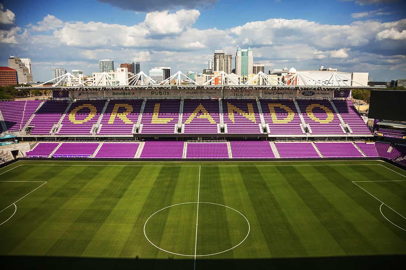 Orlando City Stadium Field