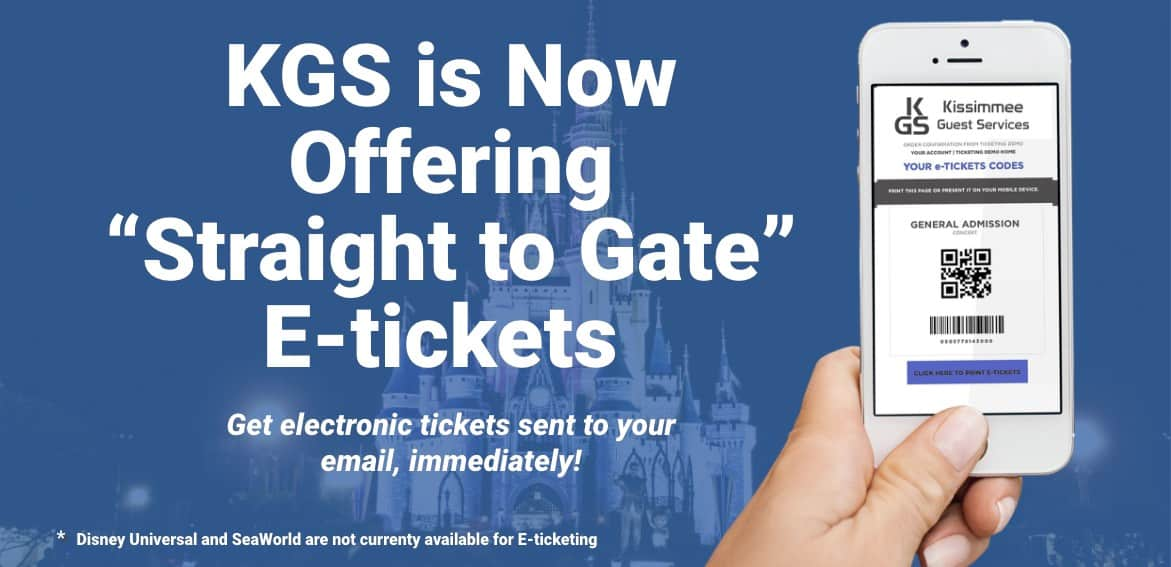 KGS Straight To Gate E-Ticket