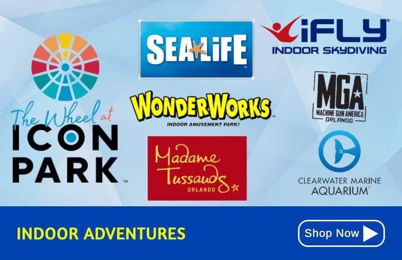 KGS Indoor- Discount Attraction Tickets Orlando