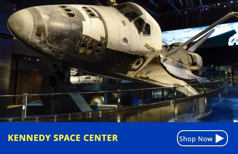KGS Kennedy Space Center- Discount Attraction Tickets Orlando