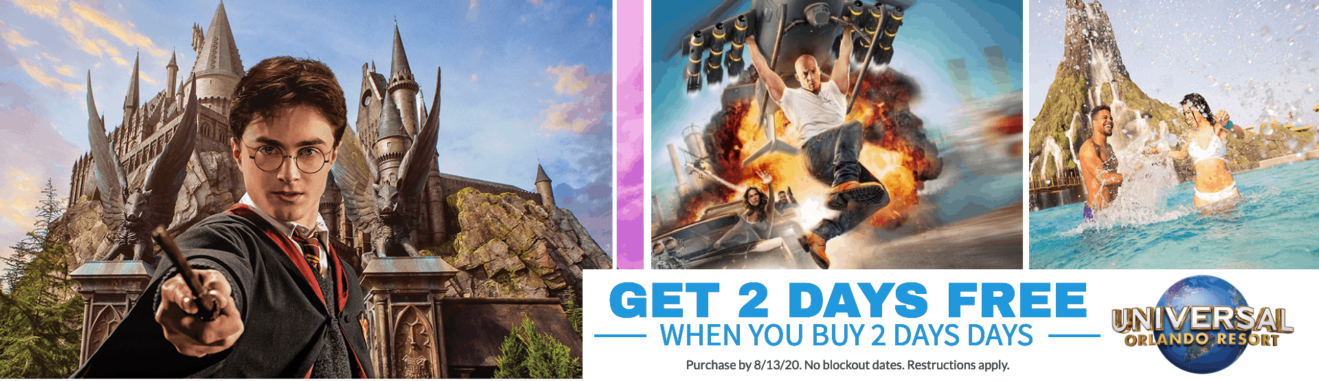 KGS Attraction Tickets - Universal Orlando